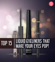 15 best liquid eyeliners for women