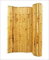 3 4 X 3 X 8 Natural Bamboo Fence Amazon Ca Books