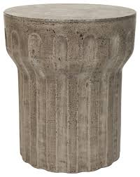 safavieh vesta concrete accent table