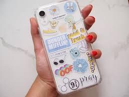 Diy Sticker Phone Case In 2020 Iphone Case Stickers Diy Iphone Case Tumblr Phone Case