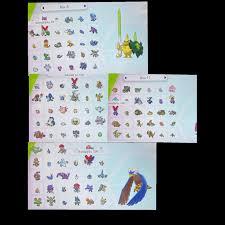 Bundle | HUGE BUNDLE COMPLETE DEX SHINY - In-Game Items - Gameflip