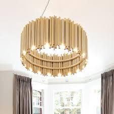 post modern gold pendant lights living