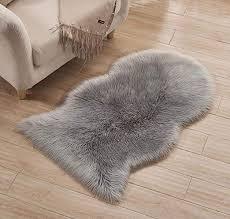 laghcat faux fur carpet fluffy