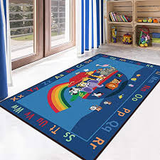 Rugs Home Kitchen Hsrg Baby Playmat Kids Carpet For Playing With Cars And Toys Developing Mat For Children Game Pad Educational Alphabet Area Rug