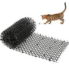 Kohree Cat Scat Mat With Spikes 2m X 0 3m Cat Dog Animal Spikes Repellent Deterrent Mat Anti Cat Mat Indoor Cat Deterrent Outdoor Mat For Garden Fence Amazon Co Uk Business Industry Science