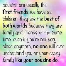 cousin quotes we need fun