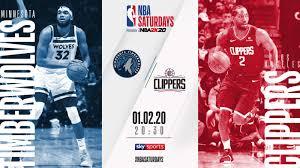 NBA Saturday Primetime on Sky Sports: Minnesota Timberwolves ...