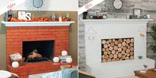 fireplace paint and wall