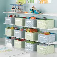 White Elfa Activity Room Shelving The Container Store
