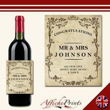 l136 personalised vine style wedding