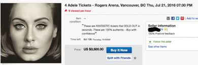 People are Paying Stupid Amounts for Adele Concert Tickets | Indie88