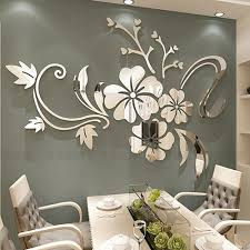 Cheap Wall Stickers Buy Directly From China Suppliers Exquisite Flower 3d Mirror Wall Stickers Rem Mirror Wall Art 3d Mirror Wall Stickers Cheap Wall Stickers
