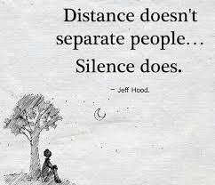 kira kira artinya begini bukanlah jarak yang memisahkan orang