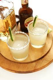 ginger beer margaritas minimalist