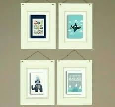 Kids Wall Art Prints Set Of 4 Big Boys Room Gift Ebay