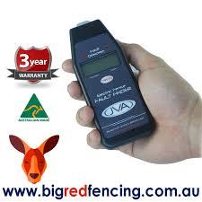 Jva Digital Electric Fence Tester And Fault Finder Big Red Fencing