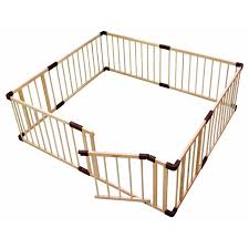 Best Deal Dcee Brand Baby Game Fence Crawl Guardrail Safe Hurdles Baby Real Wood Solid Play Fence Baby Playpen Game Guard Panel Wood Fence Cicig Co