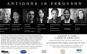 Normandy Schools Collaborative - Check out our very own Mr. Duane Foster in  Antigone in Ferguson TONIGHT online. There's no charge but you need to  register with eventbrite to view (use link