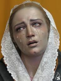 Hoy Bendición de la Dolorosa de los Siete Dolores del Santo Ángel, primera  de Romero Zafra para Sevilla