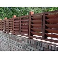 Versa Fence Flex Fence Louver System Outdoor Living Outdoor Decor Misc Outdoor Decor