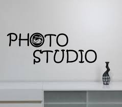 Photography Studio Sign Wall Decal Vinyl Window Sticker Eye Etsy