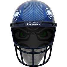 Seattle Seahawks Helmet Fanmask 7 1 2in X 10 1 4in Party City