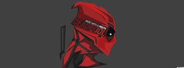 مارفيل كوميكس Deadpool الحد الأدنى في رمادي داكن خلفيات تنزيل خلفية Hd