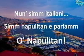I saluti napoletani andati, purtroppo, in disuso