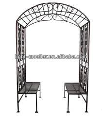 garden arch bench seat outdoor