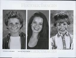 Justin Shenkarow Holly Combs Adam Wylie in Picket Fences 1992 vintage promo  photo print   Historic Images