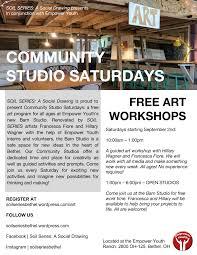 Community Studio Saturdays – SOIL SERIES: A Social Drawing