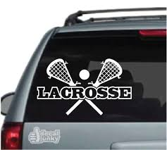 Lacrosse Car Decals Stickers Decal Junky