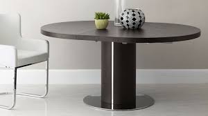 round wenge wood extending dining table