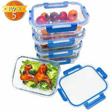 glass meal prep lunch containers