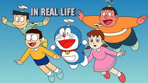 doraemon characters in real life hd