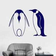 Wall Decal Cute Penguins Zoo For Kids Room Decor Art Vinyl Stickers Ig2943