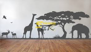 Jungle Animals Wall Stickers Stickertek Com Wall Stickers Decals
