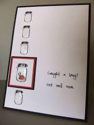 get well card jar card diy craft s