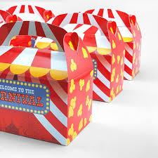 treat bo circus candy favor box