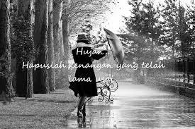 kata kata hujan dan kenangan r tis bikin baper juga lucu