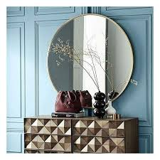 metal frame mirror framed mirror wall