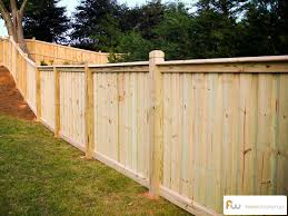 Custom Board On Board Fence Privacy Fence Designs Privacy Fence Decorations Fence Decor
