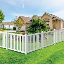 Durham 4x6 Vinyl Picket Fence Kit Vinyl Fence Freedom Outdoor Living For Lowes