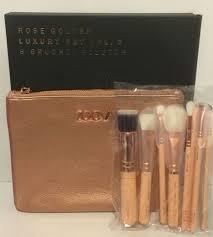 zoeva full set 8 brushes rose golden
