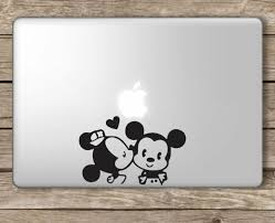 Mickey Mouse Disney Apple Macbook Laptop Vinyl Sticker Decal For Sale Online Ebay