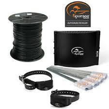 Sportdog 2 Dog Rechargeable In Ground Fence 14 Gauge Wire 1000 Feet Sdf 100c 729849167391 Ebay