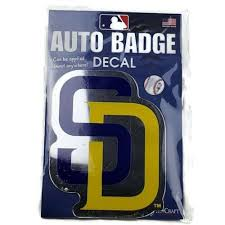New Wincraft San Diego Padres Auto Badge And 28 Similar Items