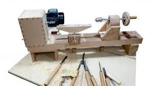 wooden plywood lathe making 1 pdf