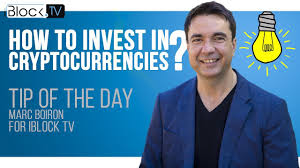 TIP FOR CRYPTO INVESTORS | MARC BOIRON FOR IBLOCK TV - YouTube