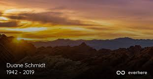 Duane Schmidt Obituary (1942 - 2019)   American Fork, Utah
